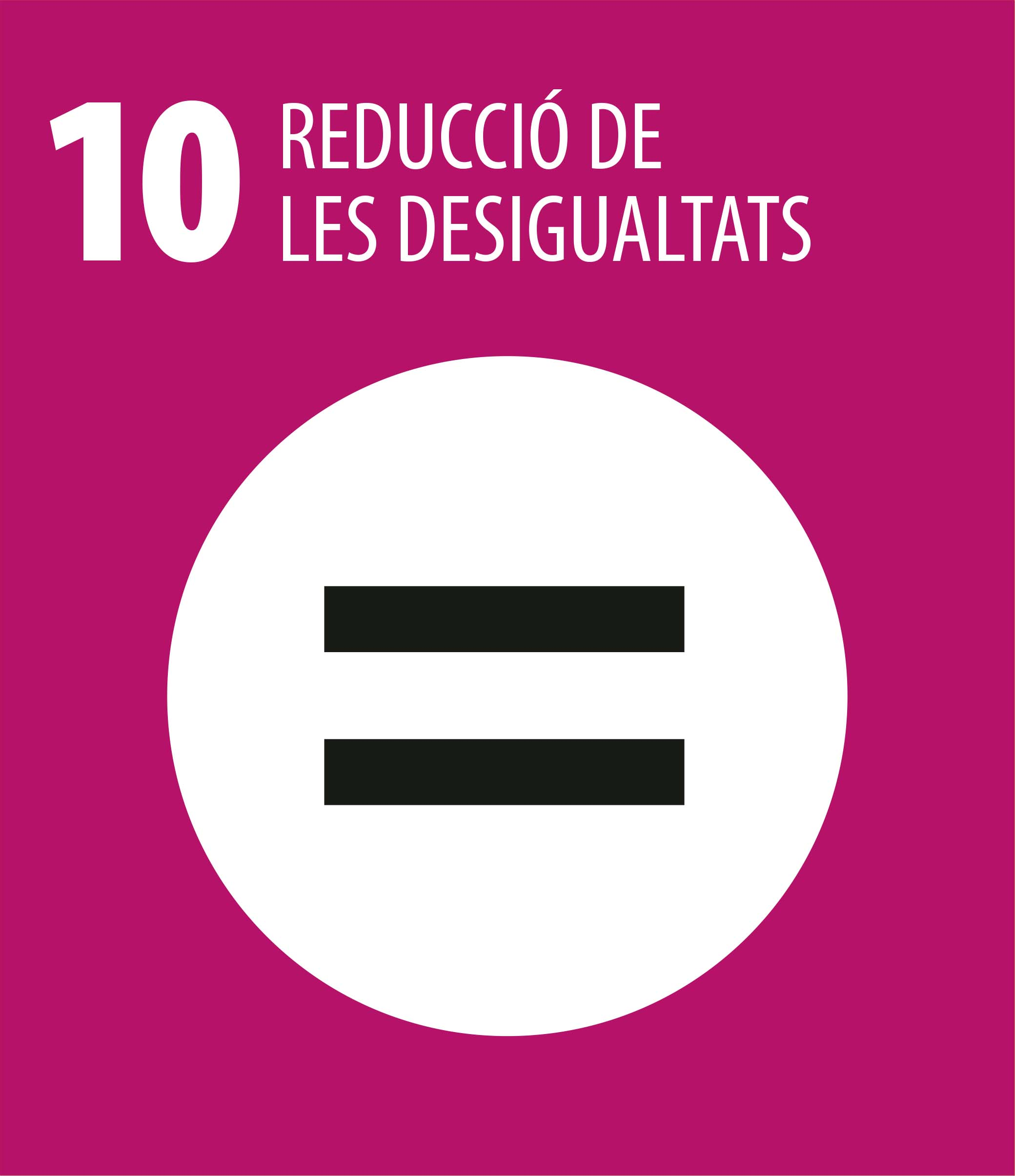 ODS 10 Reduccio desigualtats