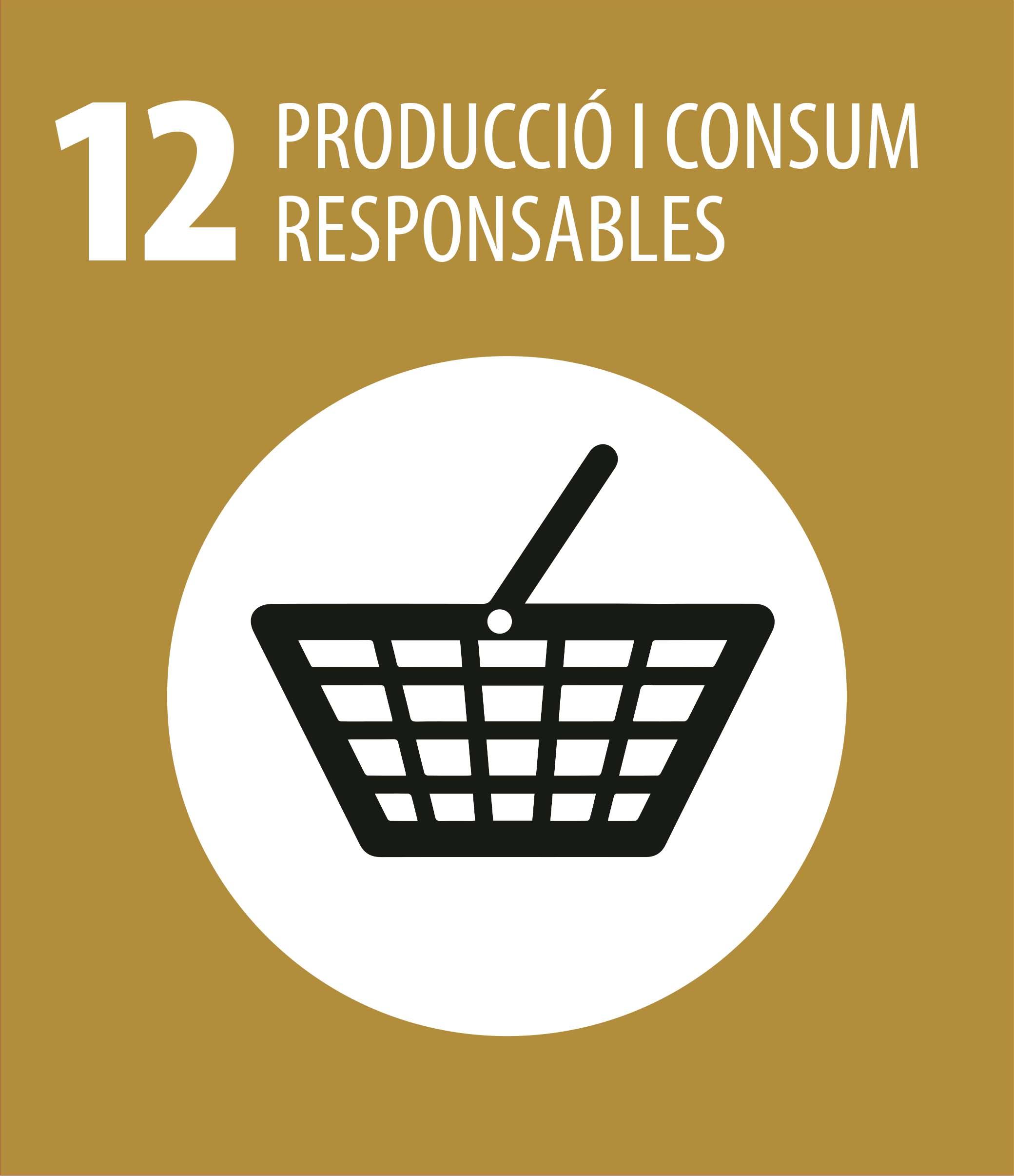 ODS 12 Produccio i consum responsables