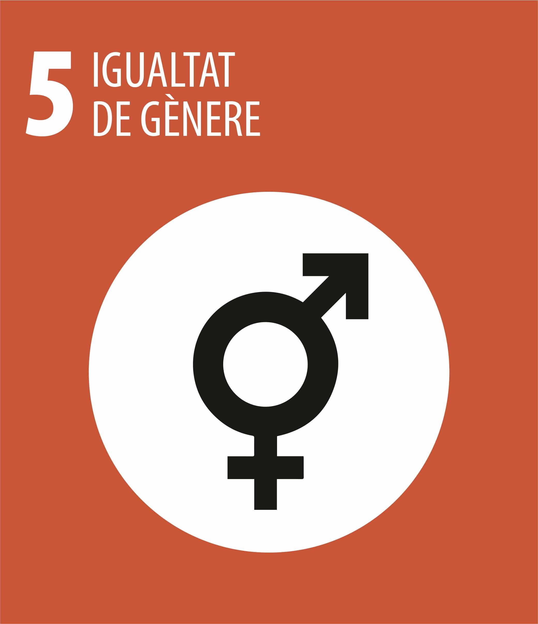 ODS 5 Igualtat genere