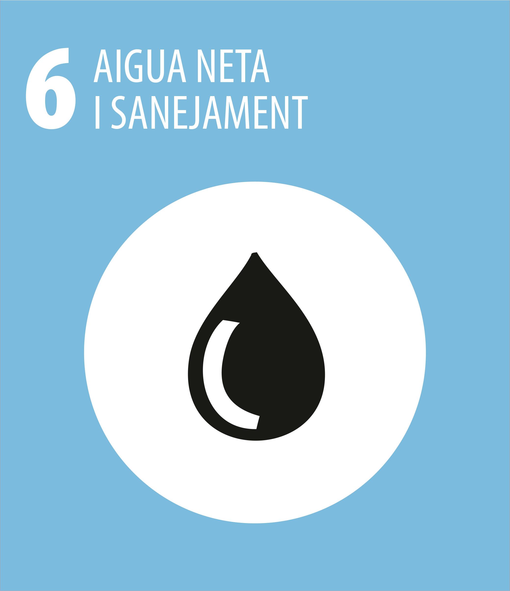 ODS 6 Aigua neta i sanejament