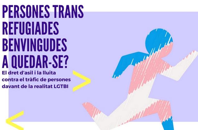 persones trans refugiades benvingudes a quedarse